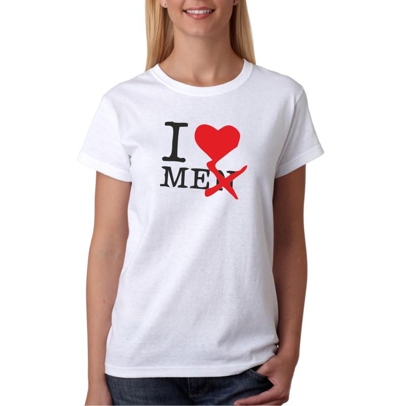 067ff487925 ... I Love Me - Dámské Tričko s vtipným potiskem ...