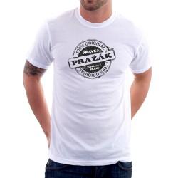 Pravéj Pražák - Pánské Tričko s vtipným potiskem