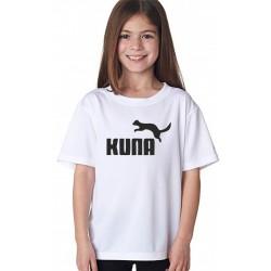 Dětské tričko s vtipným nápisem KUNA, pro holky
