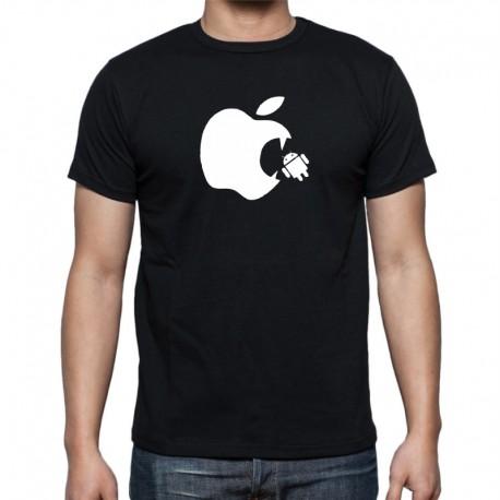 Apple Vs Android - Pánské Tričko s vtipným potiskem