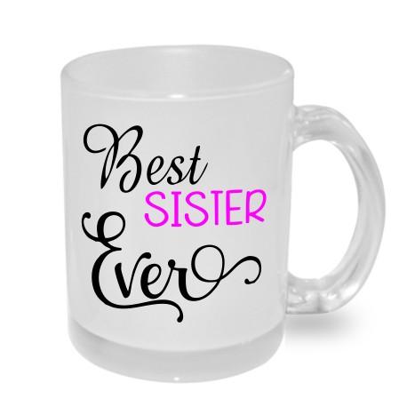 Dárek pro sestru. Best sister ever. Nejlepší sestra ze všech.