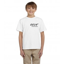 vtipné tričko pro kluka, který je dva krát lepší než agent 007, dárek děti