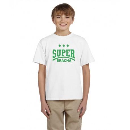 Dárek pro bráchu, tričko s potiskem super brácha, dárek pro sourozence