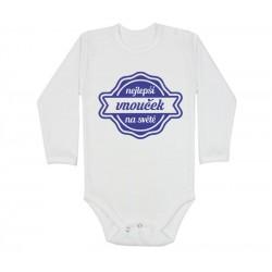 Body pro kojence s potiskem nejlepší vnouček na světě