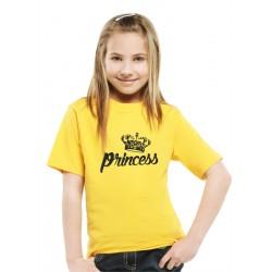 Originální tričko pro holky s potiskem princess a korunkou královny, dárek pro holčičky