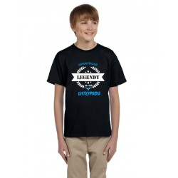 Dětské tričko s potiskem opravdové legendy se rodí v listopadu, dárek pro kluky narozené v listopadu