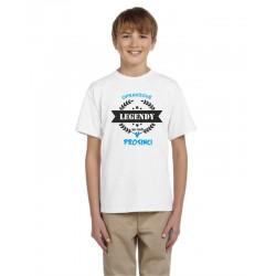 Dětské tričko s potiskem opravdové legendy se rodí v prosinci, dárek pro kluky narozené v prosinci