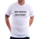 Dědeček ví všechno nejlíp, naučil se to od babičky - Dárkové Pánské tričko pro dědečky