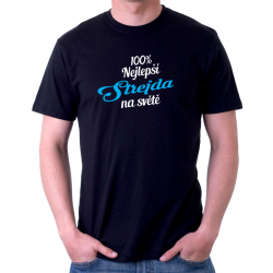 Pánské tričko 100% nejlepší Strejda na světě.