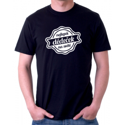 Pánské tričko s vtipným potiskem - Nejlepší dědeček na světě, dárek pro dědu