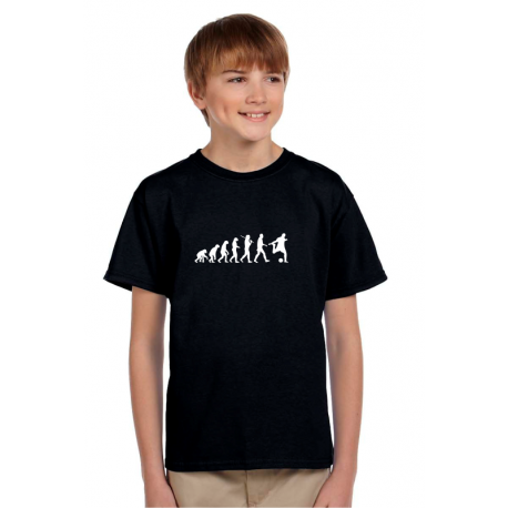 Dárek pro kluky, tričko s potiskem: Evoluce fotbal
