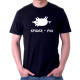 Vtipné tričko s potiskem