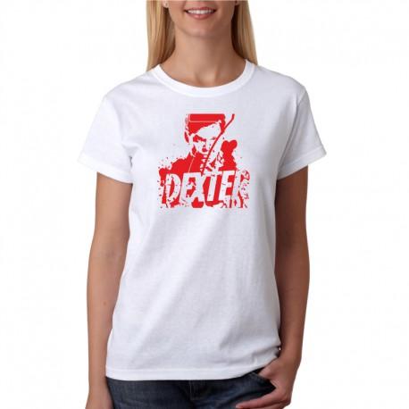 Dexter - Dámské Tričko s vtipným potiskem