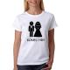 Svatební tričko dámské konec hry, ideální na rozlučkovou párty