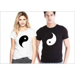 Trička pro páry Ying / Yang