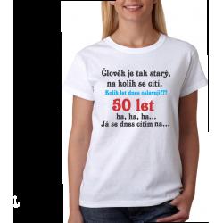 Vtipný dárek k 50 narozeninám pro ženu