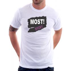 Pánské tričko ze seriálu MOST s potiskem Most Dycky