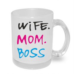 Hrnek Wife Mom Boss