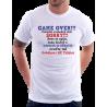 Pánské tričko Game Over poslední svobodný den