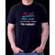 Pánské tričko k 50 narozeninám. 50 let, mládí v prdeli a do důchodu daleko, vše nejlepší