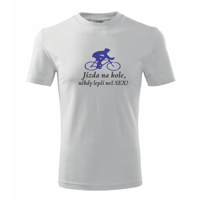 748e92127abb Pánské tričko Cyklista. Jízda na kole