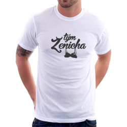 Pánské tričko Tým ženicha na rozlučku se svobodou