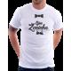 Pánské tričko Tým ženicha s podprsenkou a motýlkem