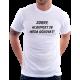 Pánské tričko Sorry, hloupost se nedá očkovat. Dárek pro muže