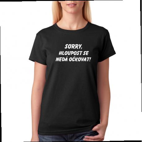 Dámské tričko s potiskem
