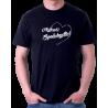 Pánské tričko s potiskem Nejlepší spolubydlící v srdíčku, dárek pro spolubydlícího