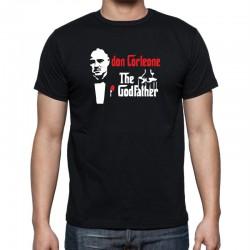 Don Corleone, The Godfather - Pánské Tričko s vtipným potiskem