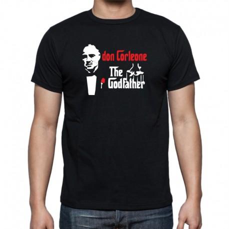 Don Corleone, The Godfather- Pánské Tričko s vtipným potiskem
