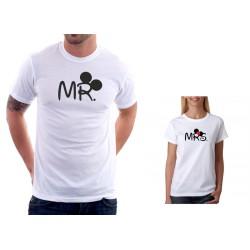 Svatební Tričko Mr. - Pánské Tričko s vtipným potiskem