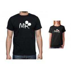 Svatební tričko s potiskem Mr. znamenající muž, dárek pro muže