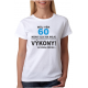 Dámské tričko Můj věk 60 nemá vliv na moje výkony, na požádání předvedu. Dárek k 60 narozeninám