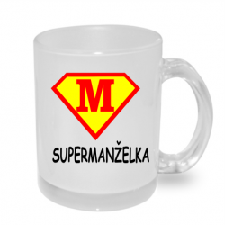 Hrnek - Super manželka ve stylu supermana.