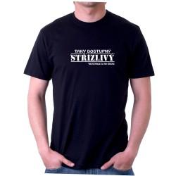 Pánské tričko - Taky dostupný střízlivý, nevztahuje se na víkend.