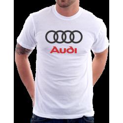 Pánské tričko s potiskem loga automobilu AUDI