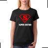 Tričko dámské super sestra jako superman.