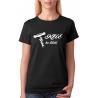 Klíč ke štěstí s obrázkem vývrtky na víno dámské tričko