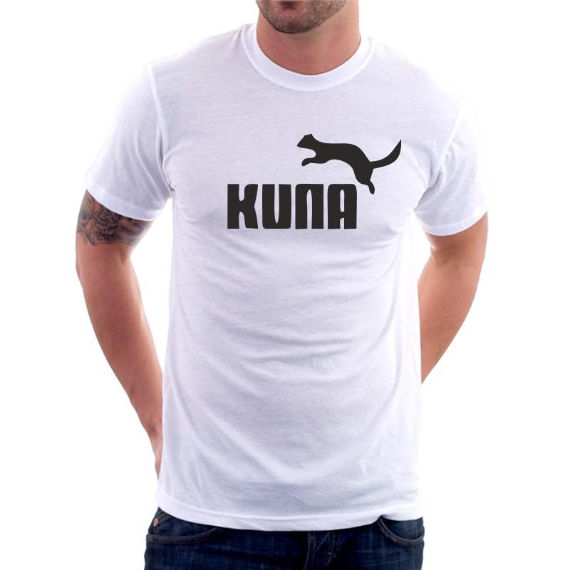 ac07da2902c Pánské tričko s vtipným potiskem Kuna