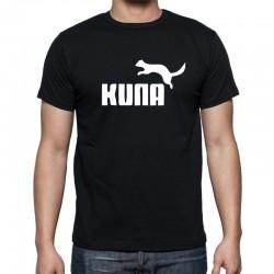 Pánské tričko s vtipným potiskem Kuna