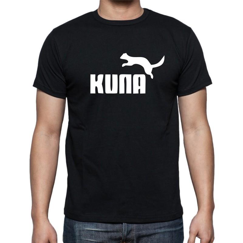 128178ad407 ... Pánské tričko s vtipným potiskem Kuna