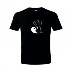 Pánské tričko s vtipným potiskem 69 Jin Jang