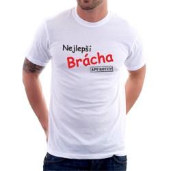 Nejlepší brácha-Approved - Pánské Tričko s vtipným potiskem