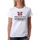 Dámské tričko Můj věk 65 nemá vliv na moje výkony, na požádání předvedu.