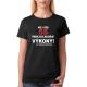 Dámské tričko Můj věk 55 nemá vliv na moje výkony, na požádání předvedu.