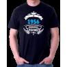 Pánské narozeninové tričko - 1956 narození legendy.