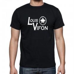 Louis Vifon - Pánské Tričko s vtipným potiskem