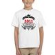 Dětské narozeninové tričko 2011 narození legendy.